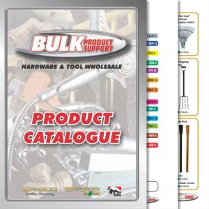 Bulk Product Support Catalogue design