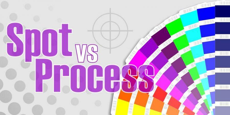 spot colour vs process colour printing