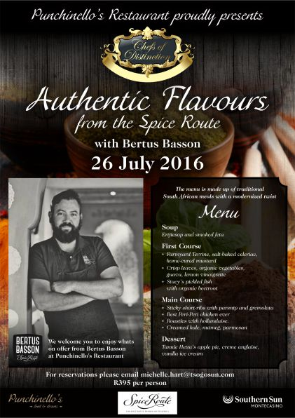 Chefs of Distinction Authentic Flavours poster
