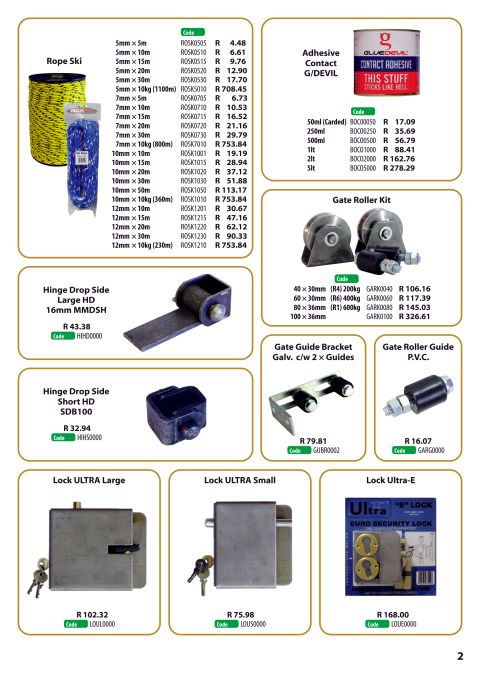 Bulk Product Support Promotional Leaflet page 2