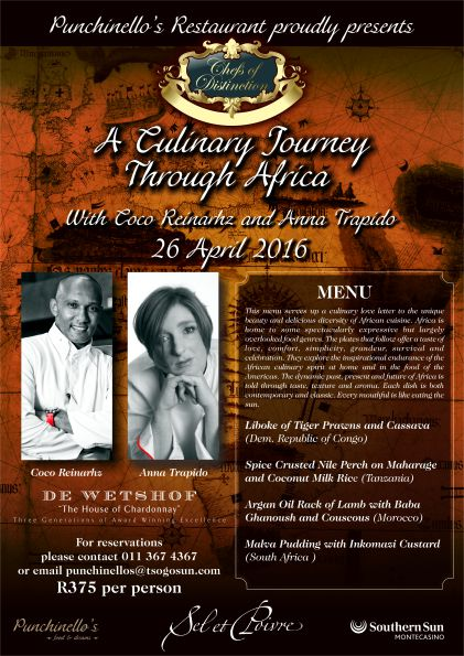 Chefs of Distinction Culinary Journey poster