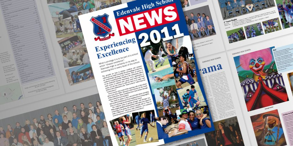 Edenvale High School Magazine featured image