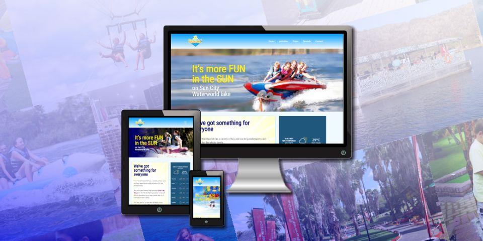 Sun City Waterworld website featured image