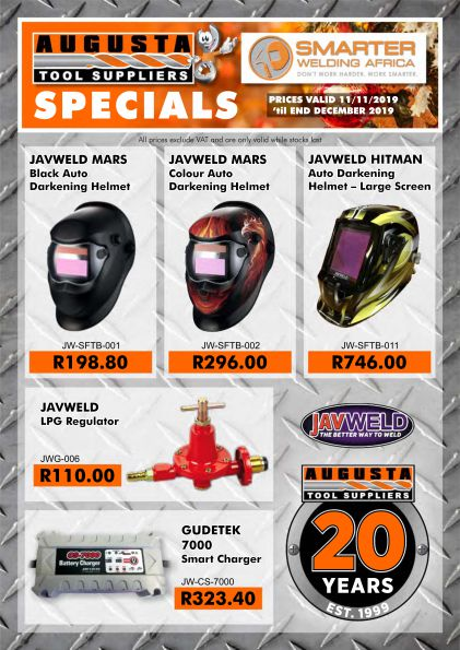 Augusta Tool promotion page 1