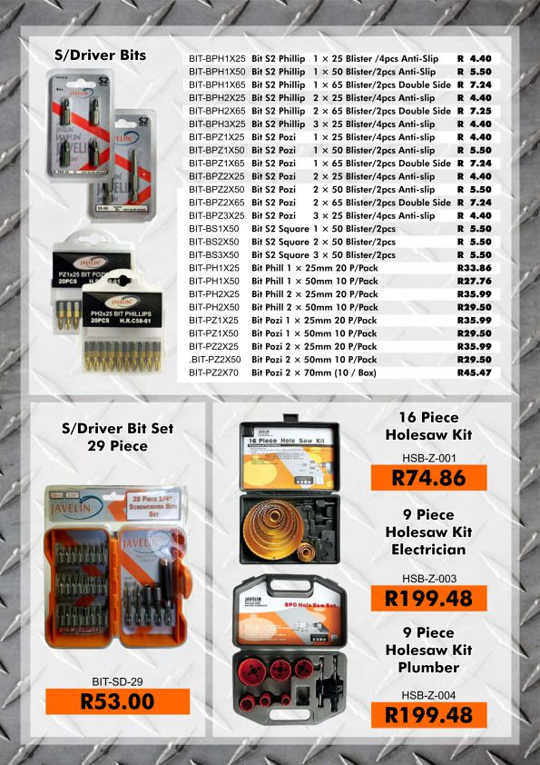 Augusta Tools Promotion page 3