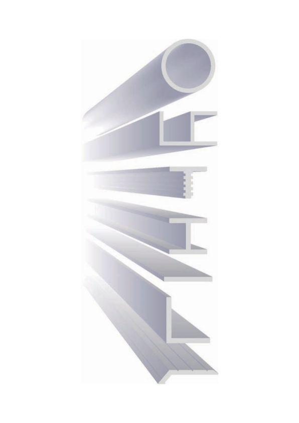 Aluminium profile illustration