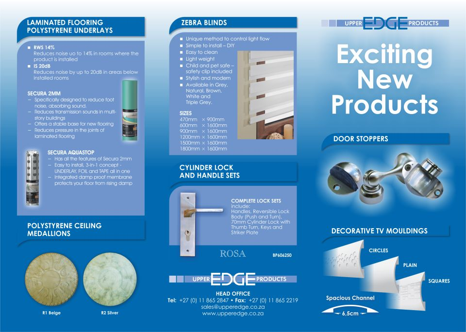 Upper Edge promotional leaflet side 1
