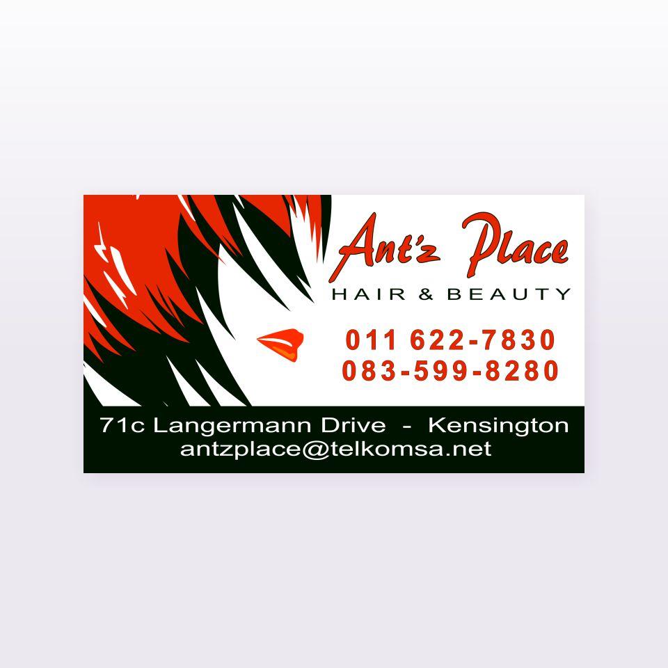 Antz Place business cards