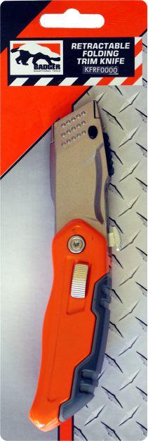 Badger Retractable Folding Knife