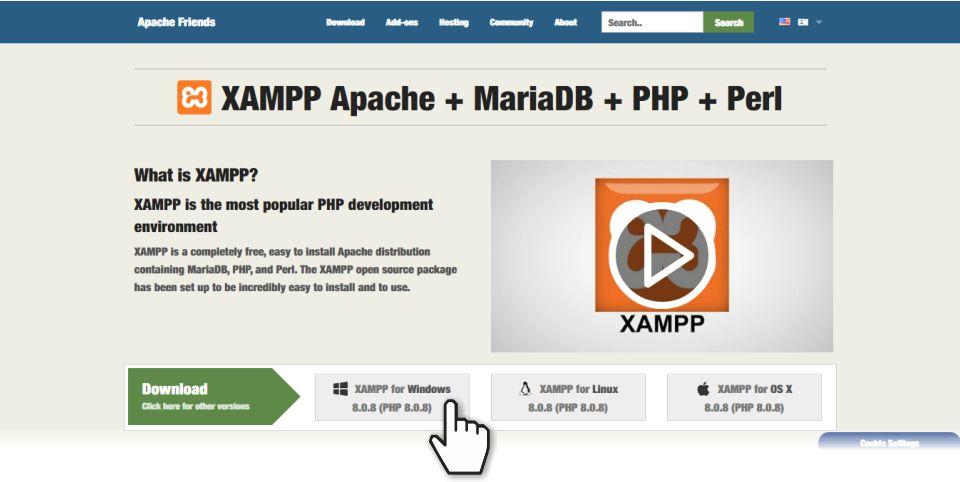 Apache Friends screenshot